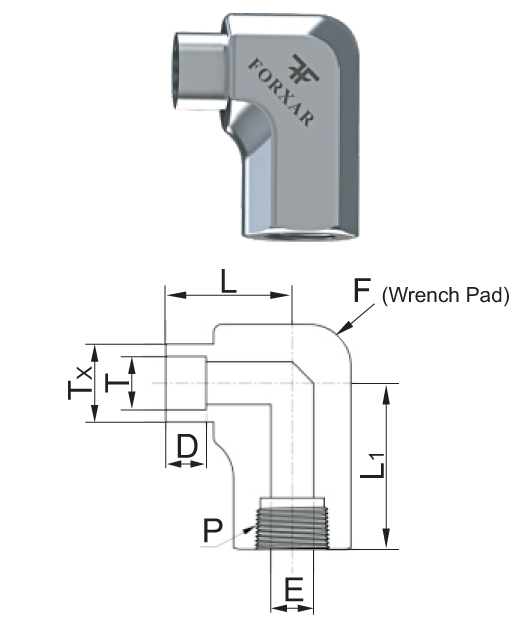 Hex Weld Fitting image